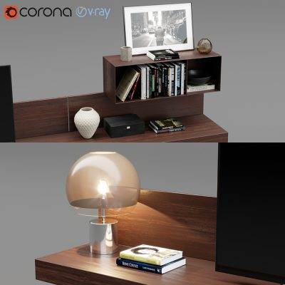 Poliform Sintesi Tv Unit 3D Model (1)