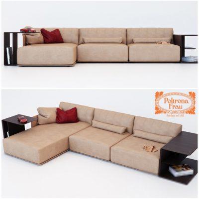 Poltrona Frau Cassiopea Sofa 3D Model