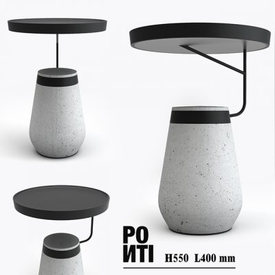 Ponti Andrea Side Table 3D Model