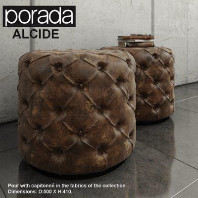 Porada Alcide Pouf 3D Model