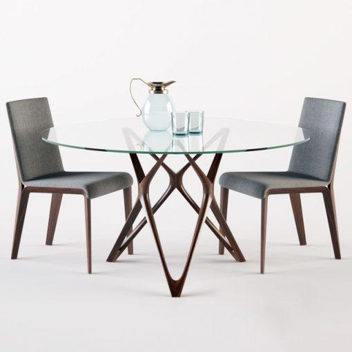 Porada Circe and Aisha Table & Chair 3D Model