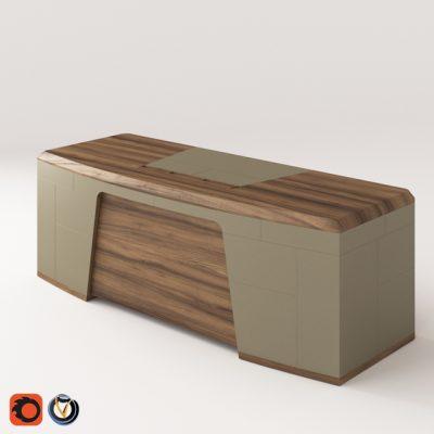 Porada Flavio Desk 3D Model
