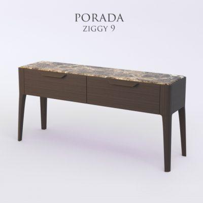 Porada Ziggy-9 Sideboard 3D Model