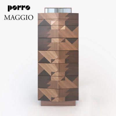 Porro Maggio Chest of Drawers 3D Model