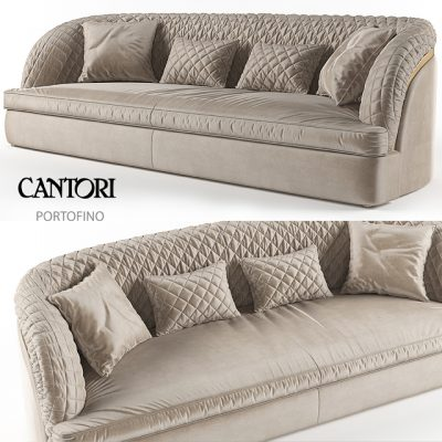 Portofino Cantori Sofa 3D Model