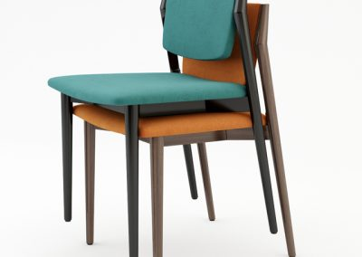 Potocco Luisa Chair 3D Model 2