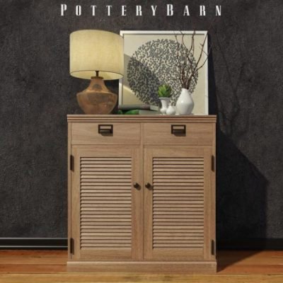 Pottery Barn Accessories 3D Model