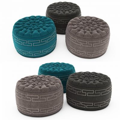 Pouf Collection-11 3D Model