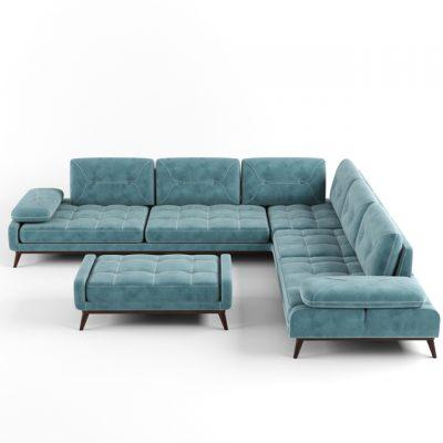 Pralin Corner Sofa 3D Model