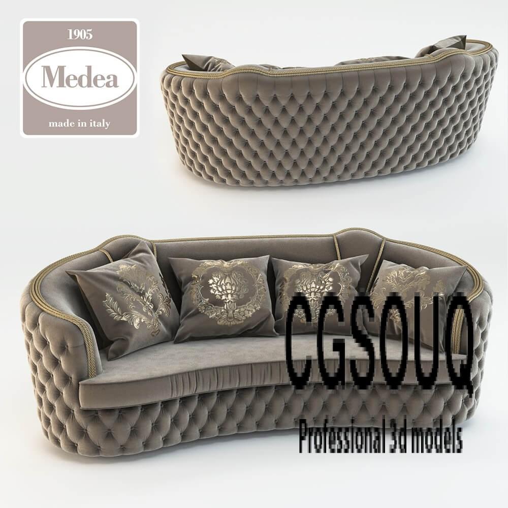Art 463 Divano Sofa 3D model