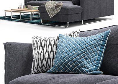 Pohjanmaan Flippep Sofa 3D Model 2