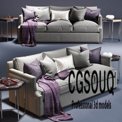 Provasi Armchair Sofa 3D Model