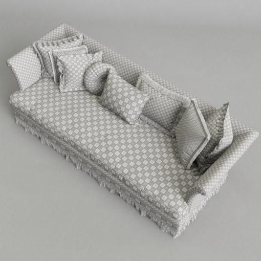 Provasi Dorian PR1221-718 Sofa 3D Model 3
