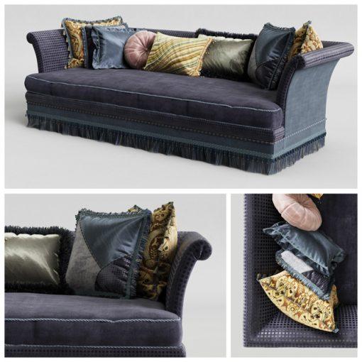 Provasi Dorian PR1221-718 Sofa 3D Model