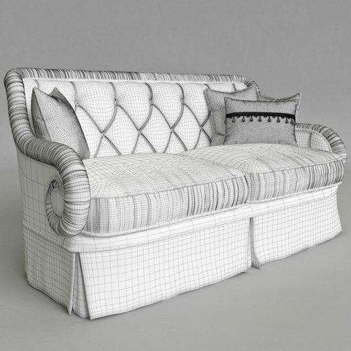 Provasi PR 2941-2-605 Sofa 3D Model 2