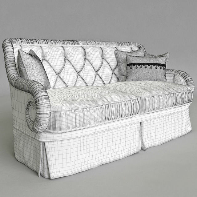 Provasi PR 2941-2-605 Sofa 3D Model 2