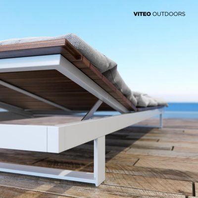 Pure Viteo Outdoor Chaise 3D Model