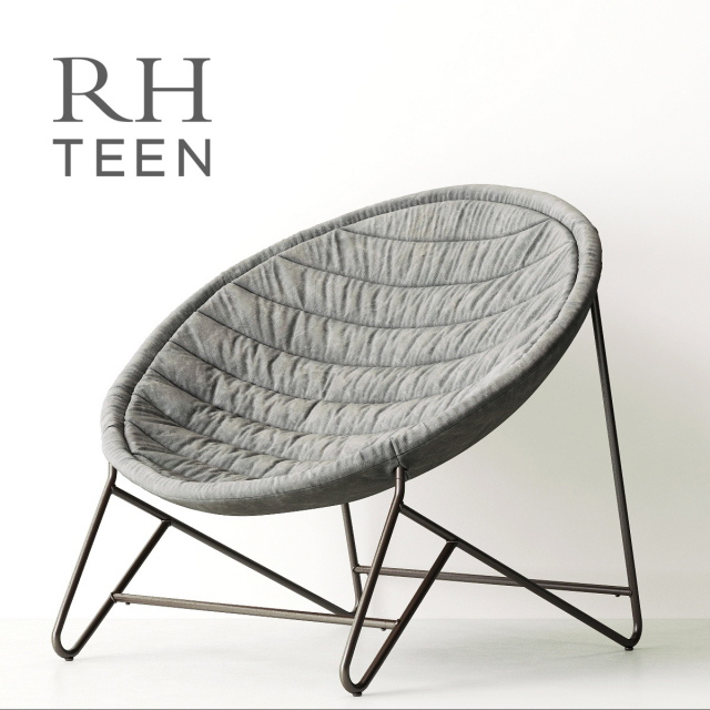 RH Cosmo Lounge Chair 3D Model