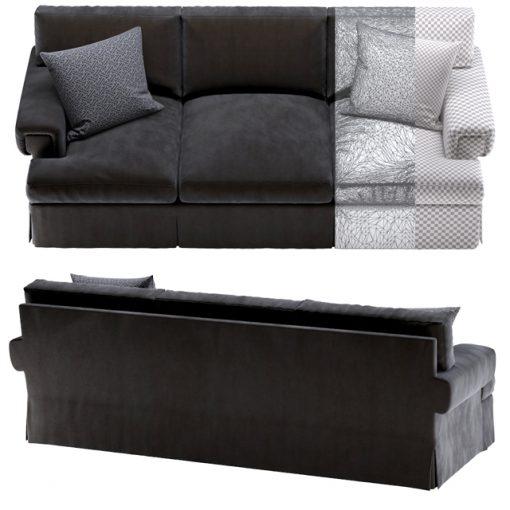 Ralph Lauren Penthouse Suite Sofa 3D Model 2