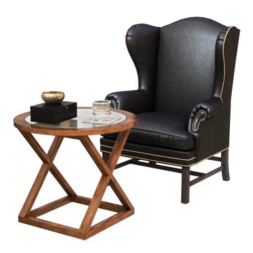 Ralph Lauren Table & Armchair 3D Model 2