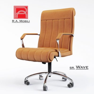 Ramobili Wave Chair 3D Model