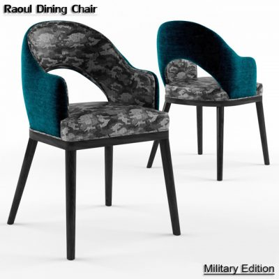 Raoul Dining Chair 3D Model