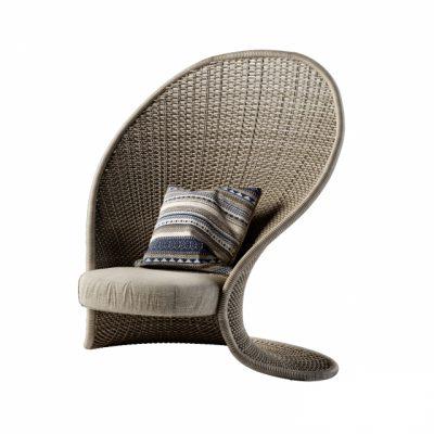 Rattan Chair 3D Model