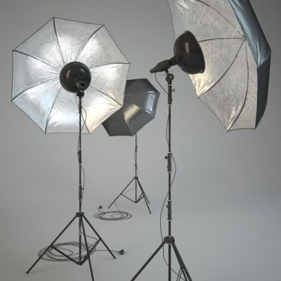 Raylab Studio Light Setup 3D Model for Download