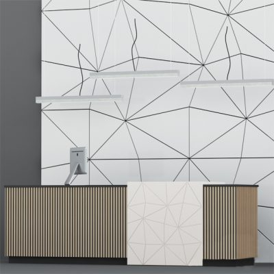 Reception 12 Sideboard 3D Model