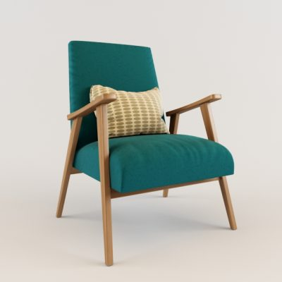 Refu Alas Chair 3D Model