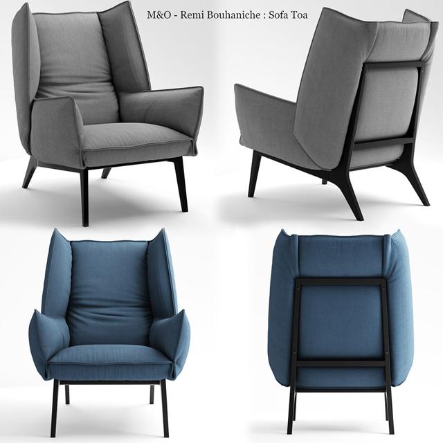 Remi Bouaniche Armchair 3D Model