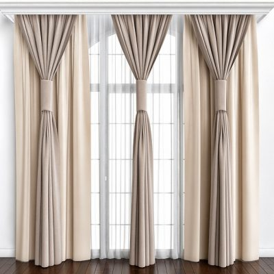 High Curtain 3D model
