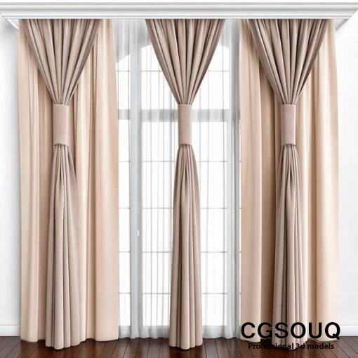 High Curtain 3D model