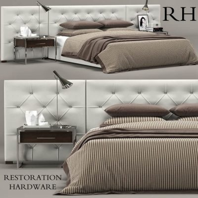 Restoration Hardware Bed 1