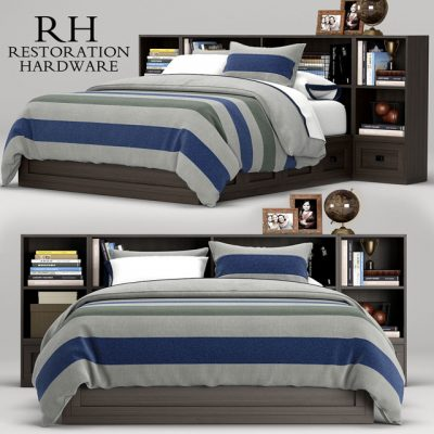 Restoration Hardware Keynes Bed 3D Model
