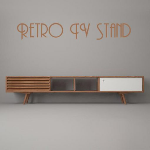Retro Tv Stand - Sideboard 3D Model