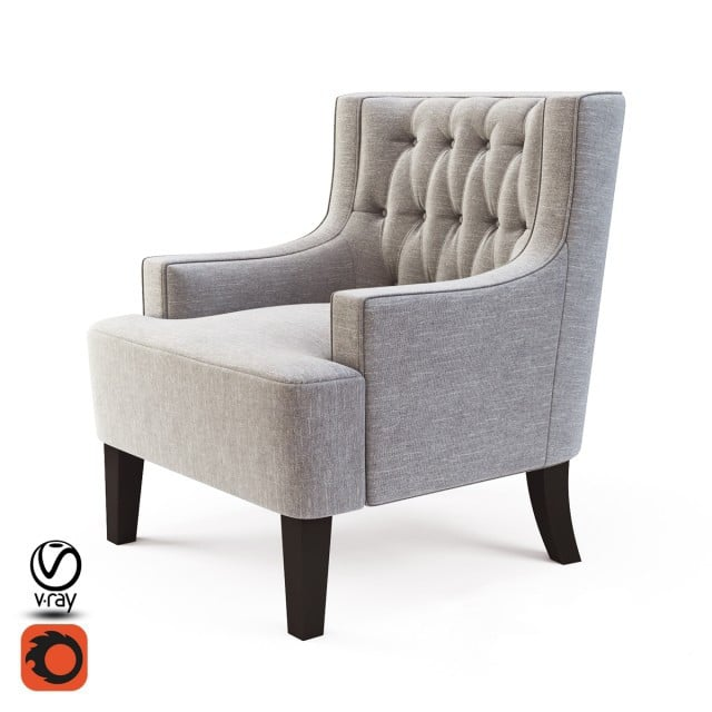Richmond Armchair 3D Model
