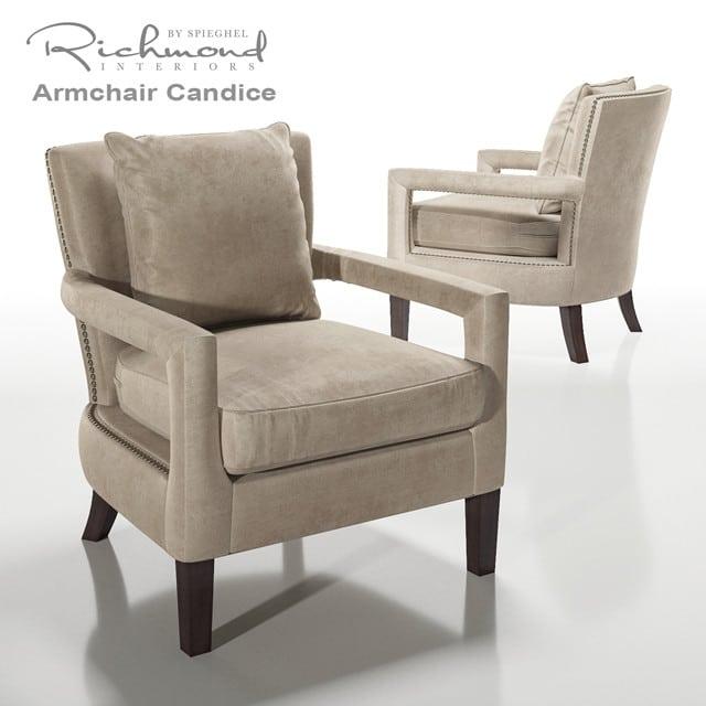 Richmond Candice Armchair 3D Model
