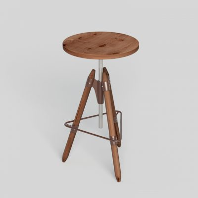 Riva 1920 Ello Bar Chair 3D Model