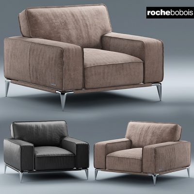Roche Bobois Dangle Ellica Armchair 3D Model