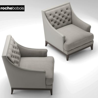 Roche Bobois Fauteuil Epoq Armchair 3D Model