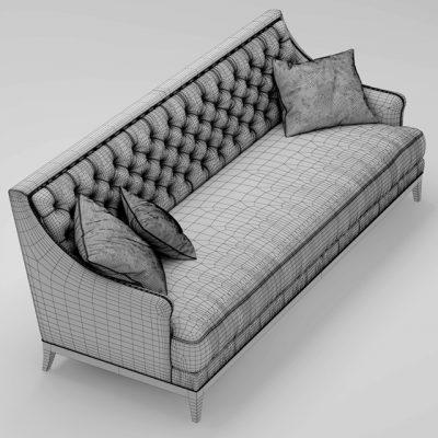 Roche Bobois Fauteuil Epoq Sofa 3D Model