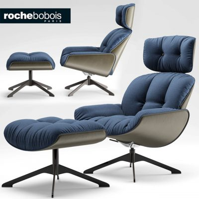 Roche Bobois Quiet Life Armchair 3D Model