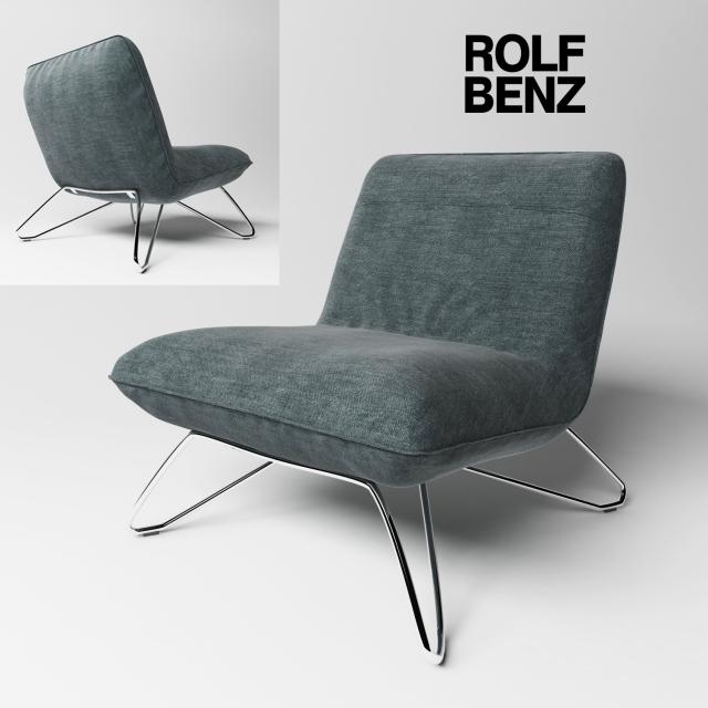 Rolf Benz 394 Chair 3D Model