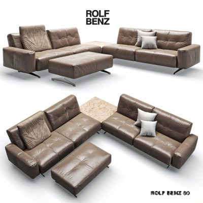 Rolf Benz-50 Sofa Set 3D Model