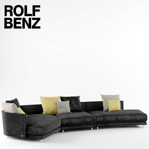 Rolf Benz Onda Sofa 3D Model 3