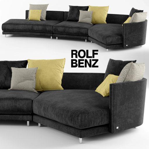 Rolf Benz Onda Sofa 3D Model