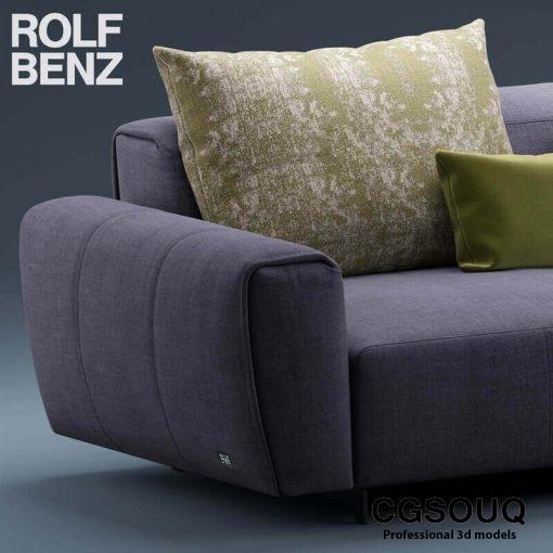 Rolf Benz Teno Sofa 3D model (4)