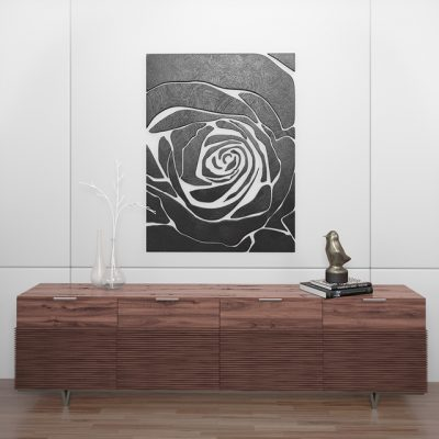 Rose Decorative Set 3D Model