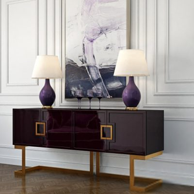 Rosewood Buffet Sideboard 3D Model